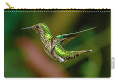 Frequent Flyer 2, Mindo Cloud Forest, Ecuador Carry-all Pouch by Venetia Featherstone-Witty