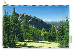 Carry-all Pouch featuring the photograph Fresh Air In The Mountains Photo Art by Sharon Talson