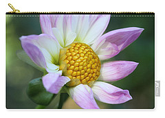 Fresh As A Dahlia Carry-all Pouch by Connie Handscomb