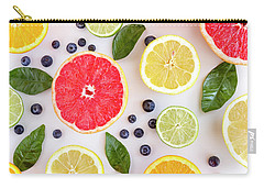 Fresh Citrus Fruits Carry-all Pouch
