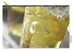 Carry-all Pouch featuring the photograph Fresh Drink With Lemon by Carlos Caetano