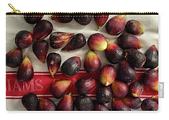 Carry-all Pouch featuring the photograph Fresh Figs by Kim Nelson