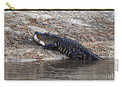 Carry-all Pouch featuring the photograph Fresh Fish by Al Powell Photography USA