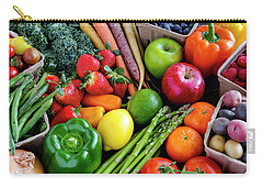 Fresh From The Farm Carry-all Pouch by Teri Virbickis