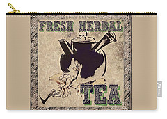 Fresh Herbal Tea Carry-all Pouch
