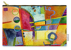 Carry-all Pouch featuring the painting Fresh Paint by Hailey E Herrera