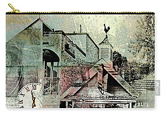 Carry-all Pouch featuring the photograph Fresh Seafood by Susan Stone