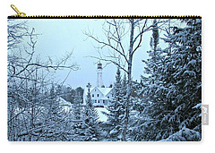 Fresh Snow Carry-all Pouch by Greta Larson Photography