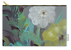 Carry-all Pouch featuring the painting Fresh Start  by Robin Maria Pedrero