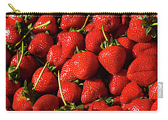 Fresh Strawberries Carry-all Pouch