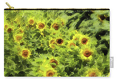 Fresh Sunflowers Carry-all Pouch