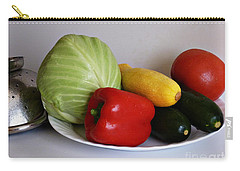 Fresh Vegetables 2 Carry-all Pouch by Methune Hively