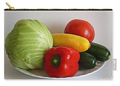 Fresh Vegetables Carry-all Pouch by Methune Hively