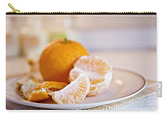 Carry-all Pouch featuring the photograph Freshly Peeled Citrus by Cindy Garber Iverson