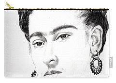 Frida Carry-all Pouch by Edgar Torres