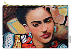 Frida Carry-all Pouch by Jan VonBokel