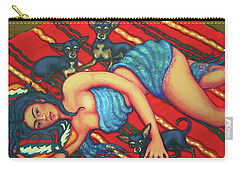 Frida Kahlo - Dreaming Of Diego Carry-all Pouch