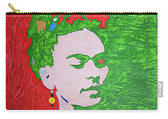 Frida Kahlo Carry-all Pouch by Stormm Bradshaw