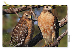 Friendly Raptors Carry-all Pouch