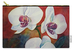 Carry-all Pouch featuring the painting Friends by Anna Ruzsan