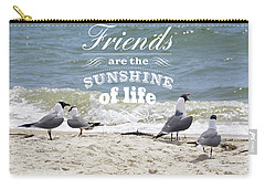 Friends In Life Carry-all Pouch