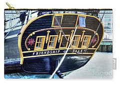 Friendship Carry-all Pouch by Adrian LaRoque