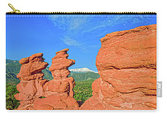Friendship Is A Habitual Inclination In Two Persons To Promote The Happiness Of One Another.  Carry-all Pouch