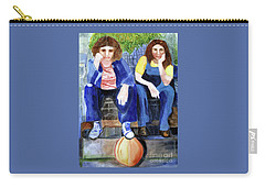 Friendship Carry-all Pouch by Sandy McIntire