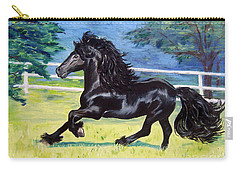 Friesian, Run Like The Wind Carry-all Pouch