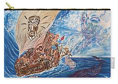 Friggin In The Riggin - Kon Tiki Expedition Carry-all Pouch