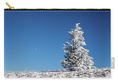Frigid Winter Day On The Appalachian Trail Carry-all Pouch