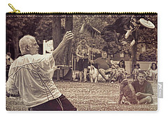 Frisbee Catcher Carry-all Pouch by Lewis Mann