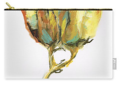Fritillaria Carry-all Pouch by Frances Marino