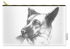 Fritz The German Shepherd Carry-all Pouch
