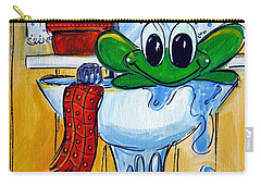 Frog Bath Carry-all Pouch