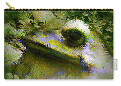 Frog In The Pond Carry-all Pouch