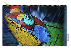 Carry-all Pouch featuring the photograph Frog Prince by Mary Machare