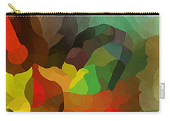 Frolic In The Woods Carry-all Pouch by David Lane