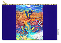 From A World Inside Of Another Carry-all Pouch by Vennie Kocsis