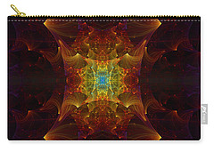 From Chaos Arisen Carry-all Pouch by Lea Wiggins