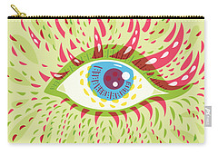 From Looking Psychedelic Eye Carry-all Pouch