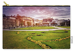 From Mirabell Gardens To Salzburg Castle  Carry-all Pouch