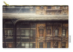 From My Window - A Snowy Day In New York Carry-all Pouch