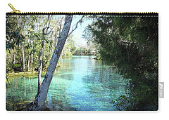 From Spring 3 To Spring 2 At Three Sisters Springs Carry-all Pouch
