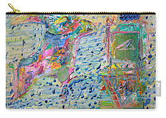 Carry-all Pouch featuring the painting From The Altered City by Fabrizio Cassetta