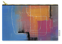Carry-all Pouch featuring the mixed media From The Beginning by Eduardo Tavares