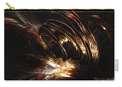 Carry-all Pouch featuring the digital art From The Beyond by Isabella F Abbie Shores FRSA