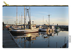 From The Dock At Powell River Carry-all Pouch