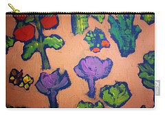 Carry-all Pouch featuring the painting From The Earth by Winsome Gunning