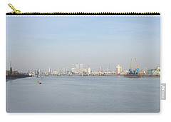 Carry-all Pouch featuring the photograph From The Ferry Boat - John Newman - Woolwich Arsenal - London by Mudiama Kammoh